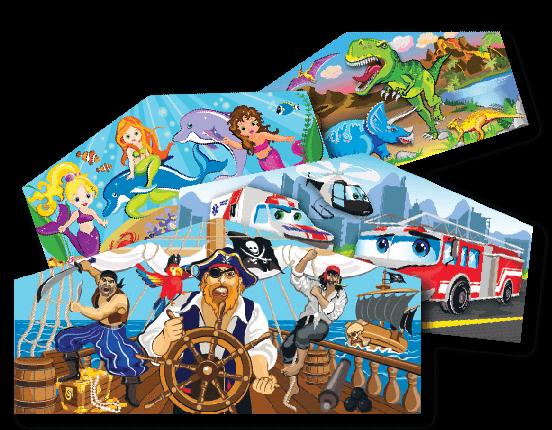 art panels for interchangeable theme combination bouncy castle