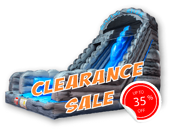 inflatable bouncy castle clearance sale